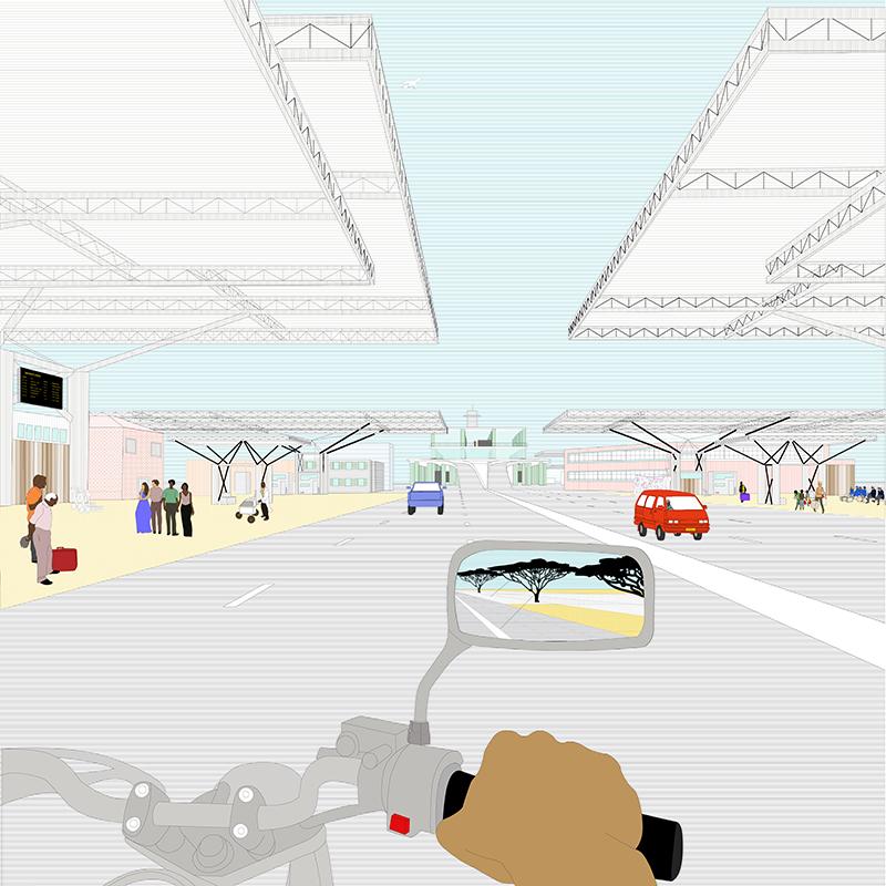 Intérieur aéroport
